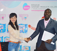 September, 2014: Build-up Solid Cooperation with Benin Customer