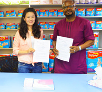 June, 2015: Build-up Solid Cooperation with Nigeria Customer